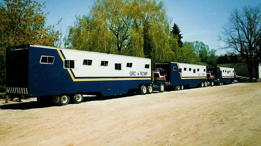 RCMP Horse Trailers